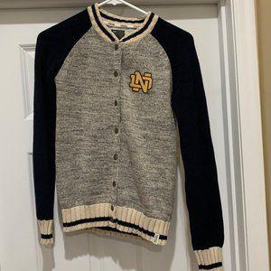 Renu Brand Notre Dame University Cardigan Sweater